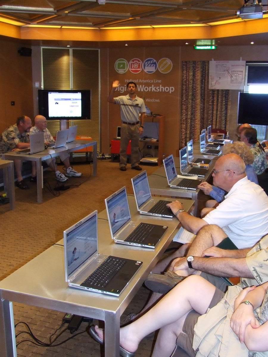 Upscale Digital Meeting Room