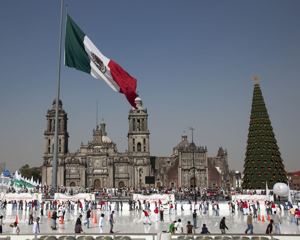 Mexico City Skating Rink