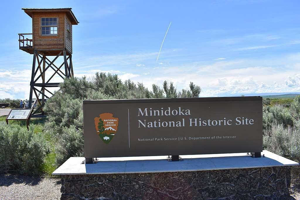 Entrance to the Minidoka National Historic Site