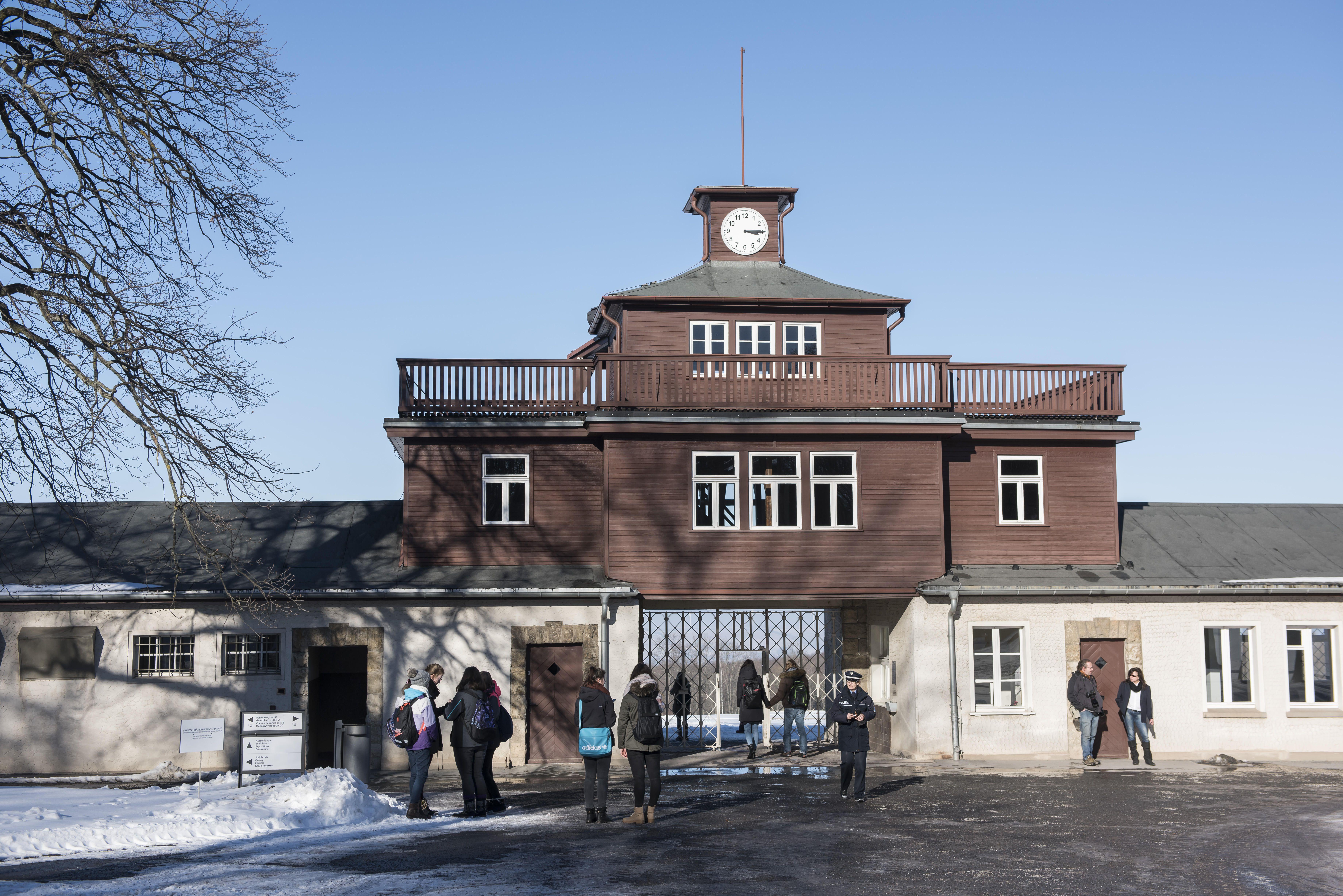 Campo de concentración de Buchenwald en Alemania