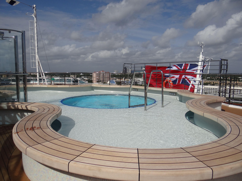 Regal Princess Terrace Pool