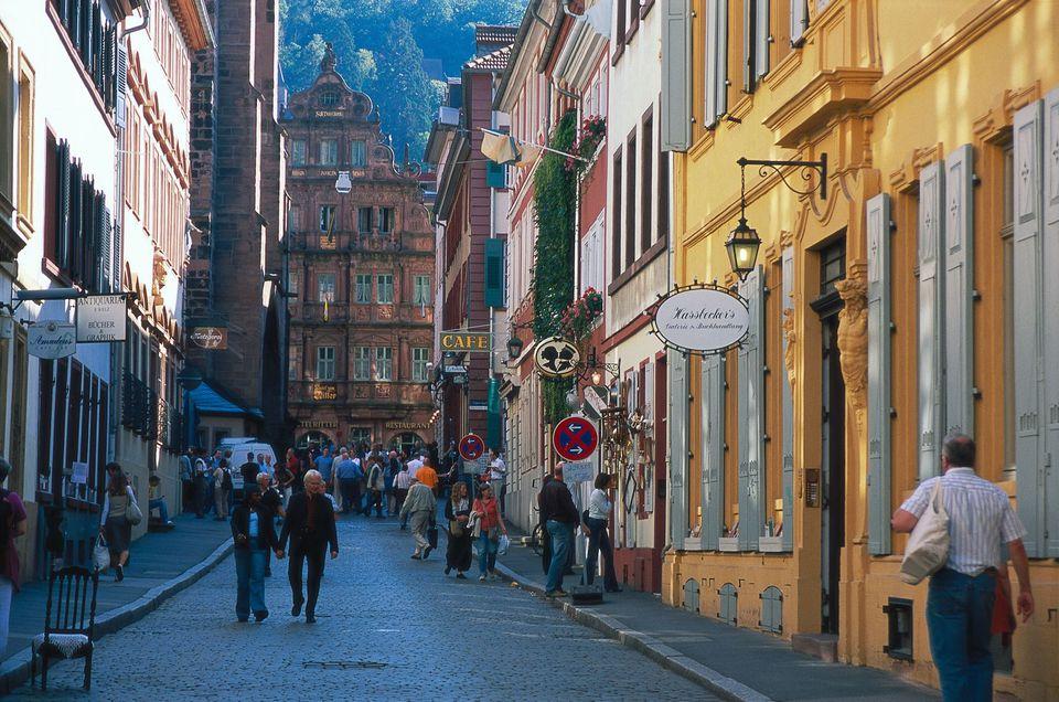 Heidelberg's Old Town