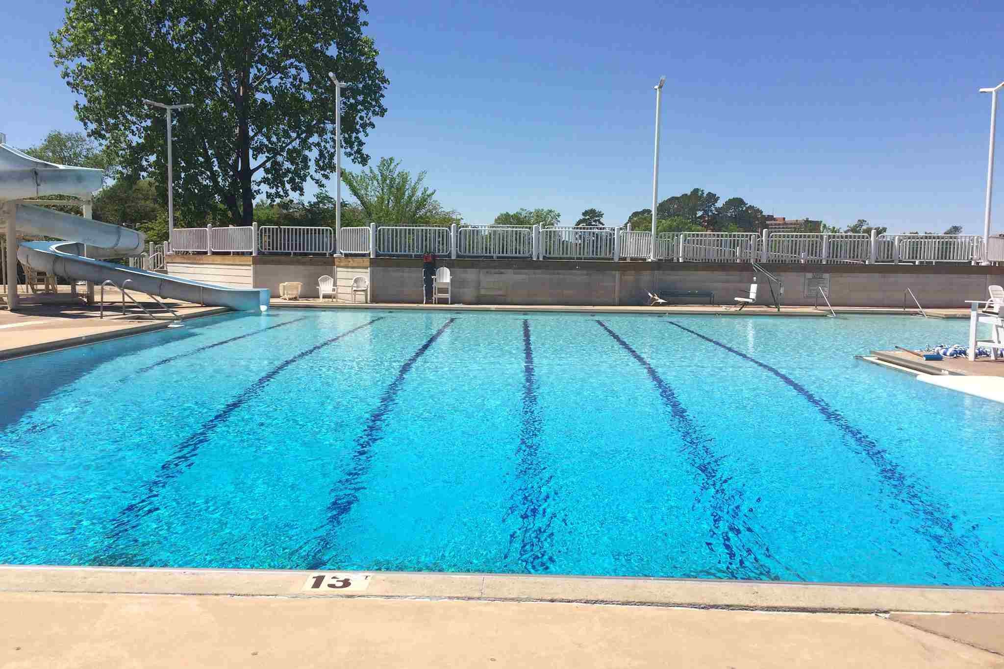 The Pool at the Jim Dailey Fitness & Aquatic Center