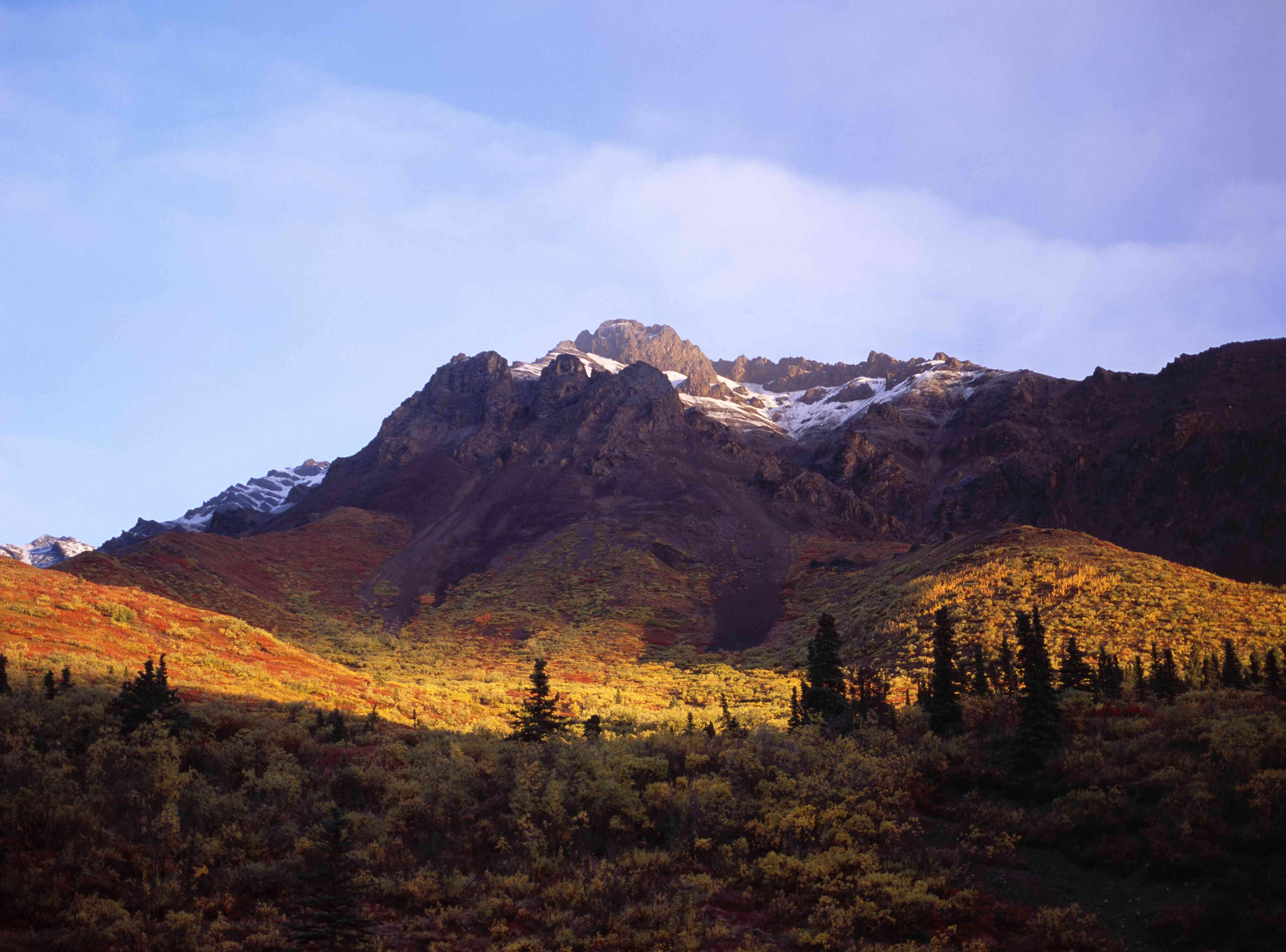Igloo Mountain in the autumn