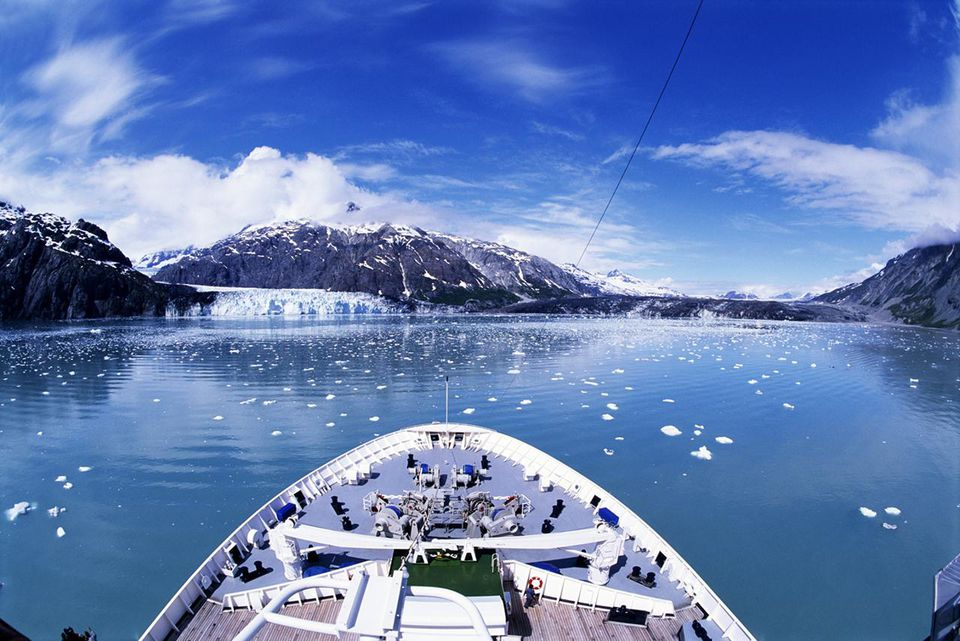 Alaska cruise view