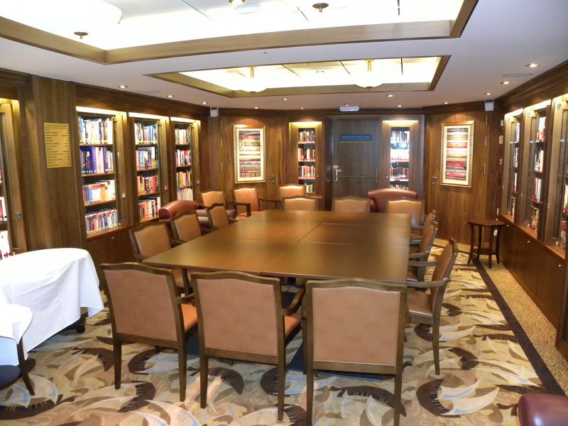 Allure of the Seas Library