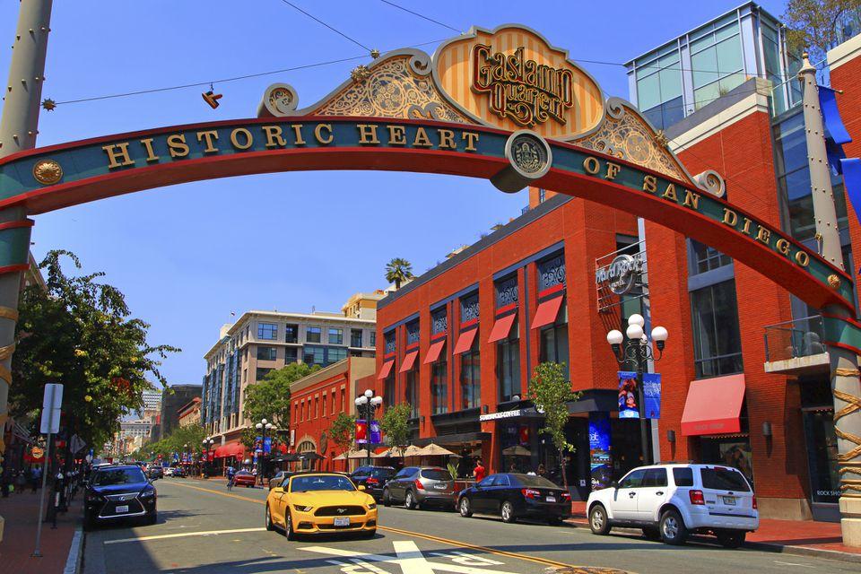 Distrito histórico de San Diego Gaslamp