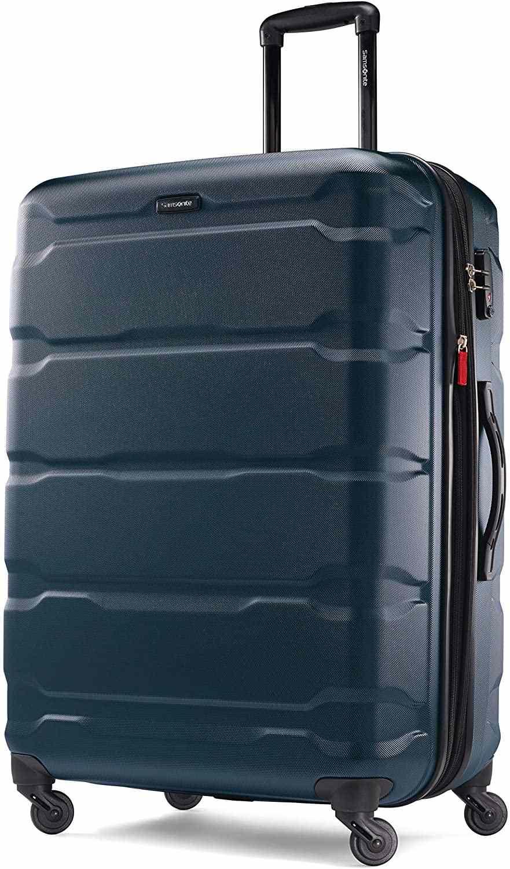 Samsonite Omni PC Hardside Expandable Luggage in blue