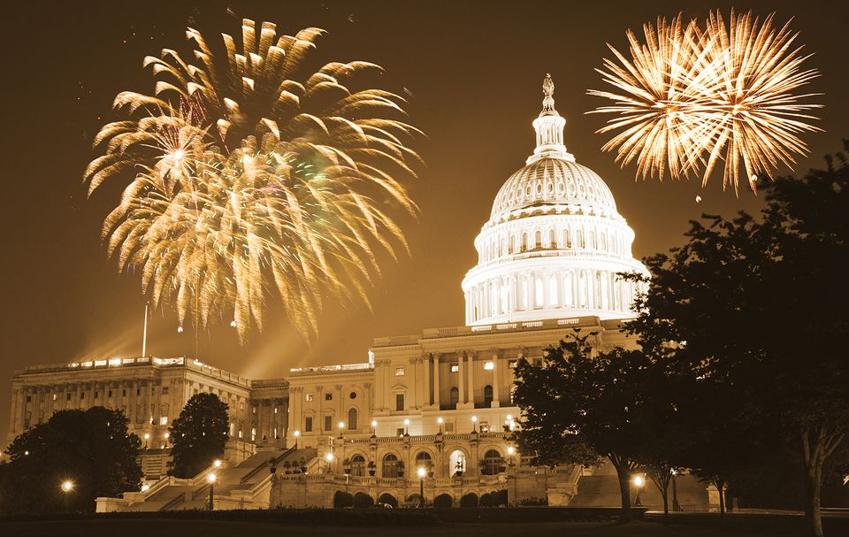 celebration day in washington dc for the new year