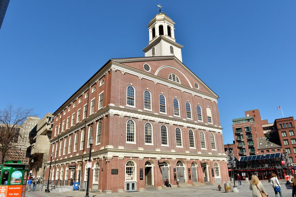 Boston's Faneuil Hall Marketplace