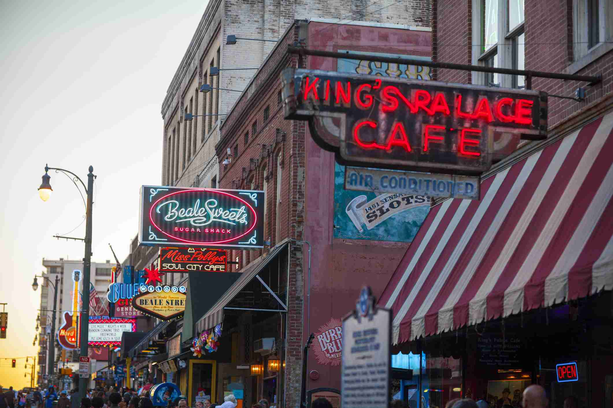King's Palace Cafe on Beale Street, Memphis
