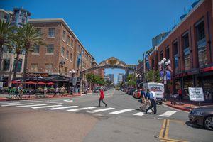 Gaslamp District, San Diego, CA