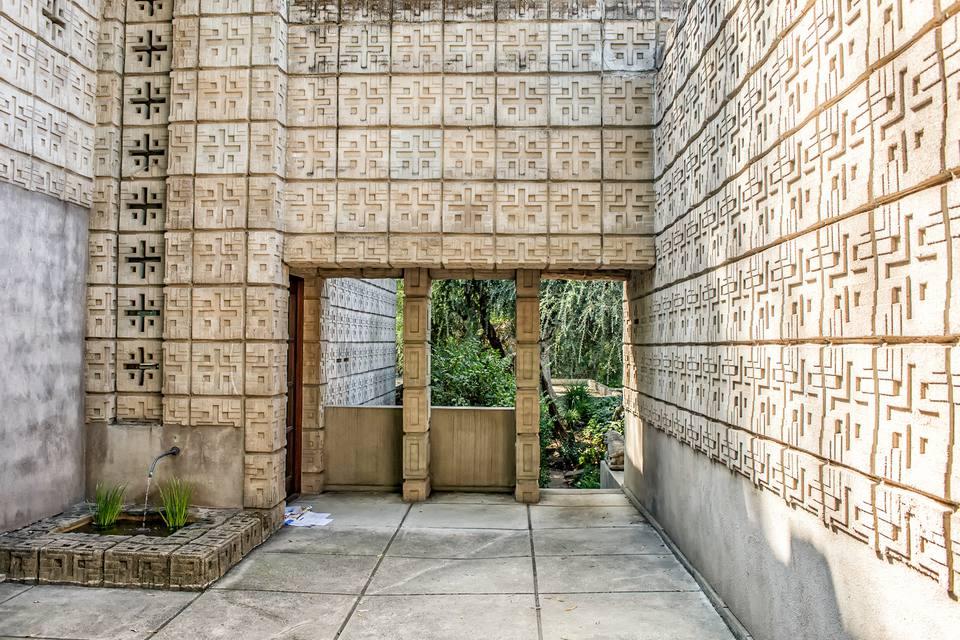 Millard House by Frank Lloyd Wright