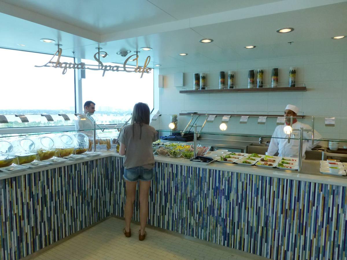 Celebrity Reflection - AquaSpa Cafe
