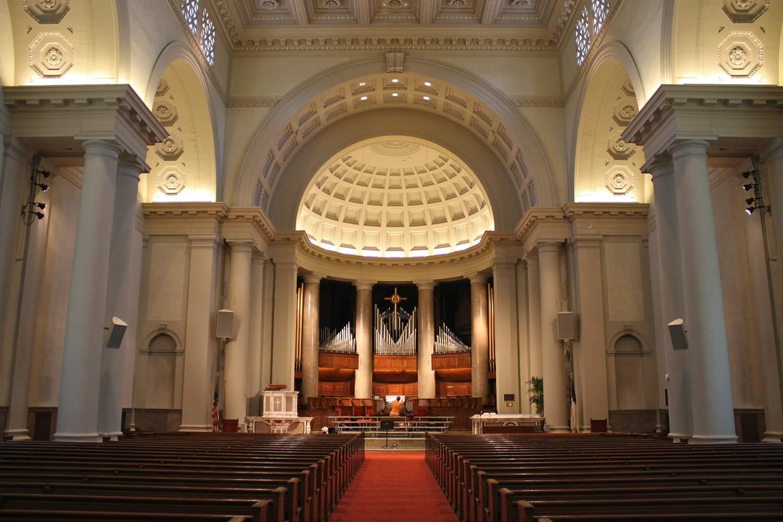Iglesia nacional de la ciudad Washington DC