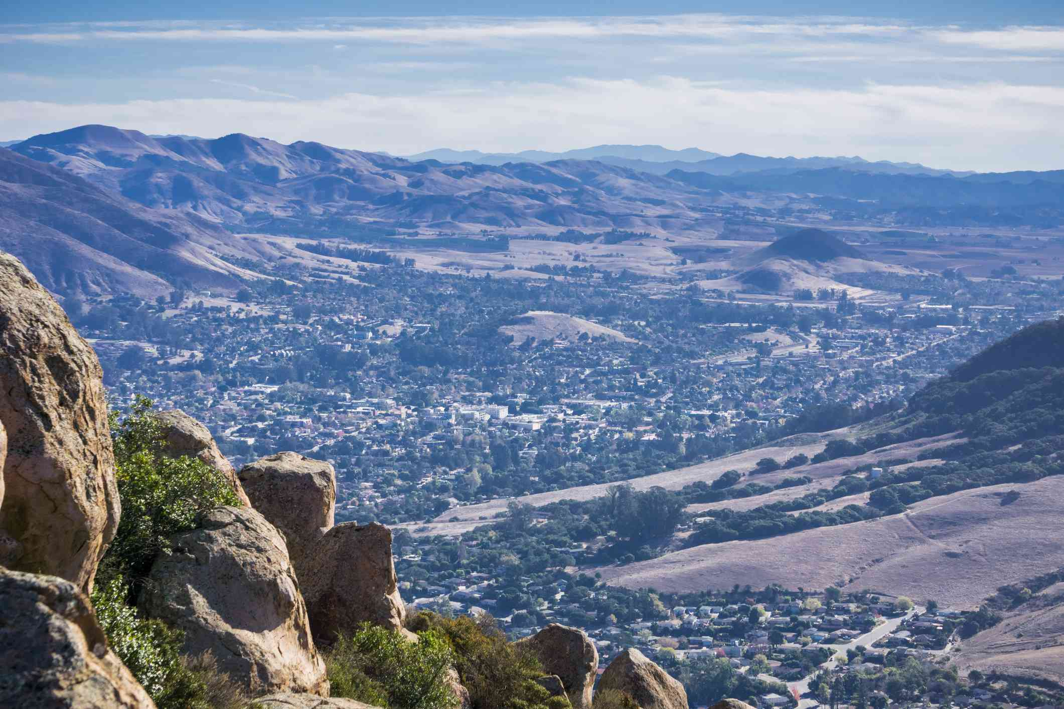 View from Bishop Peak Trail