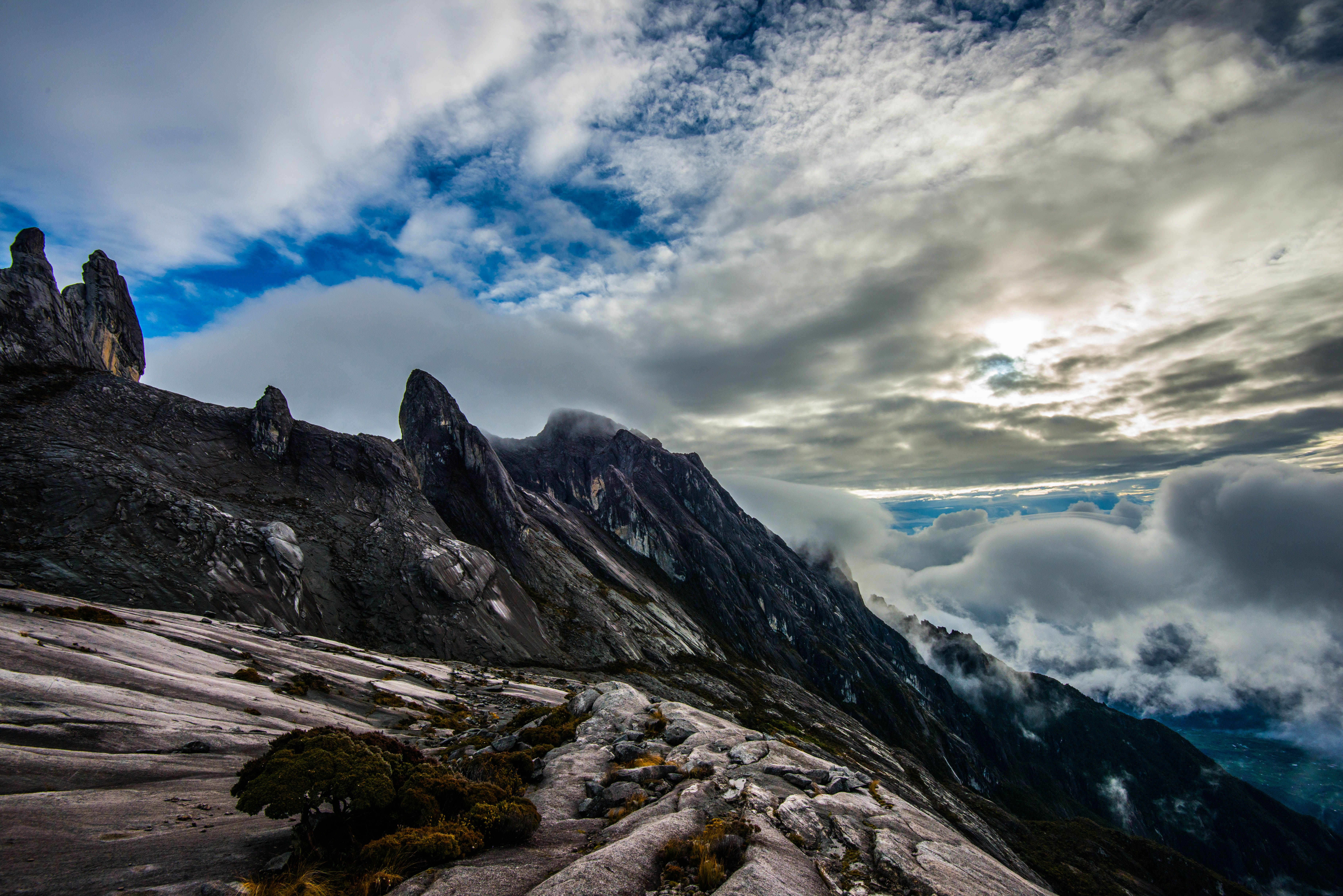 Cumbre del Monte Kinabalu