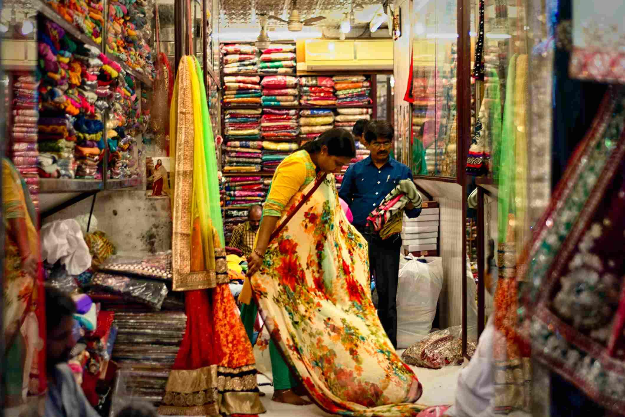 Shop in Delhi.