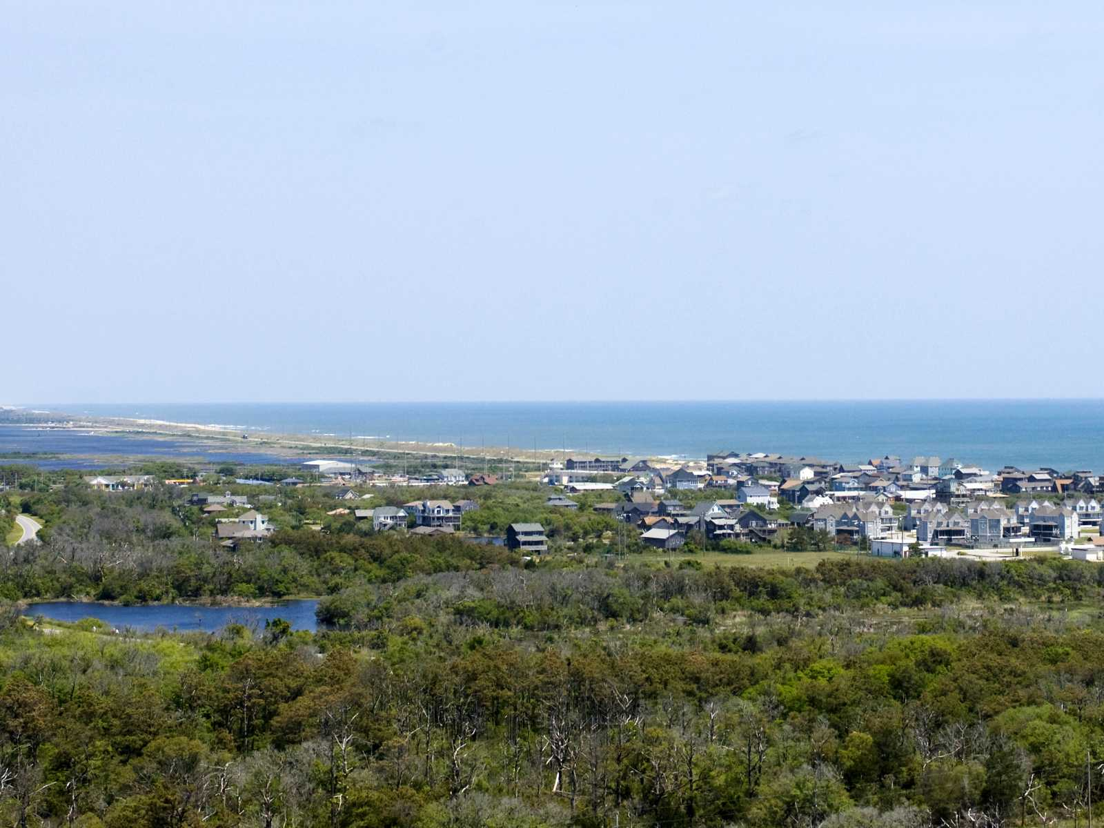Photo of a View from Cape Hatteras Lighthouse