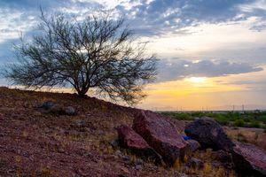 Papago Park in Phoenix, Arizona