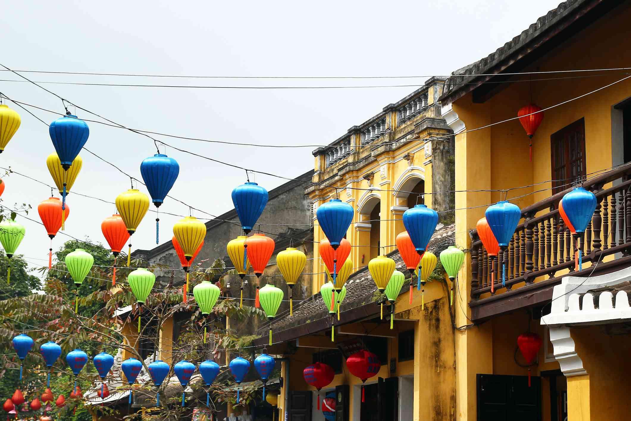 Lanterns for Tet in Hoi An, Vietnam