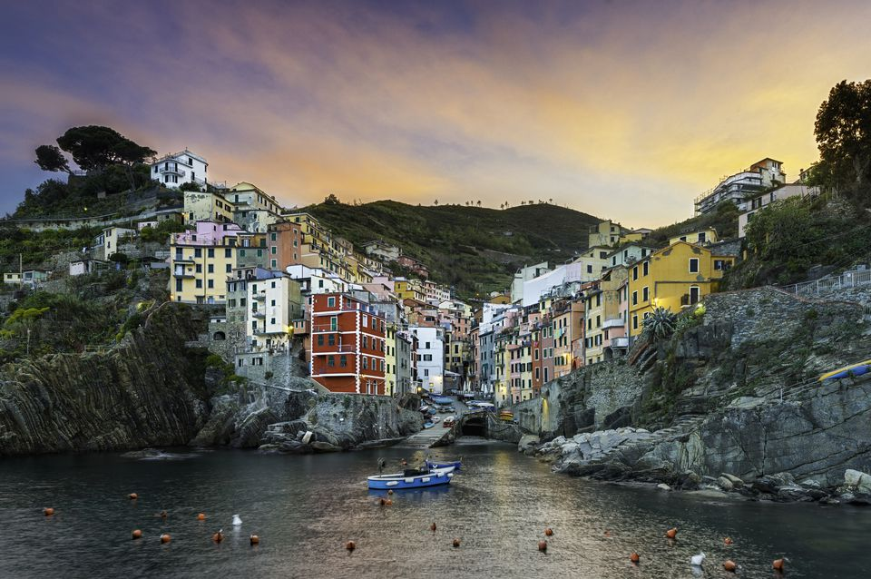 Italian Riviera Tourist Map and Guide