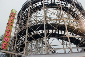 The classic Cyclone is among the highlights at Coney Island's Luna Park
