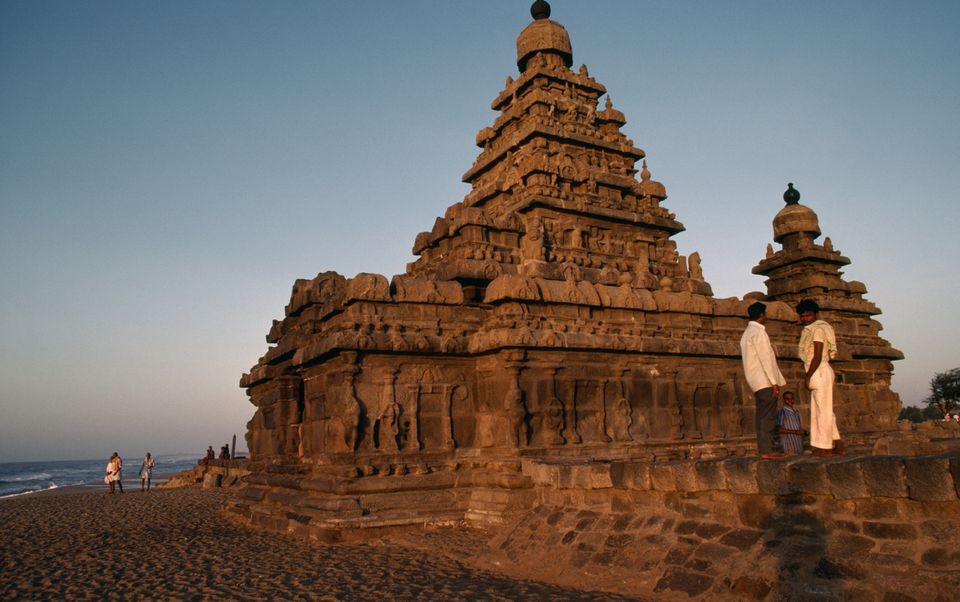 Shore temple.
