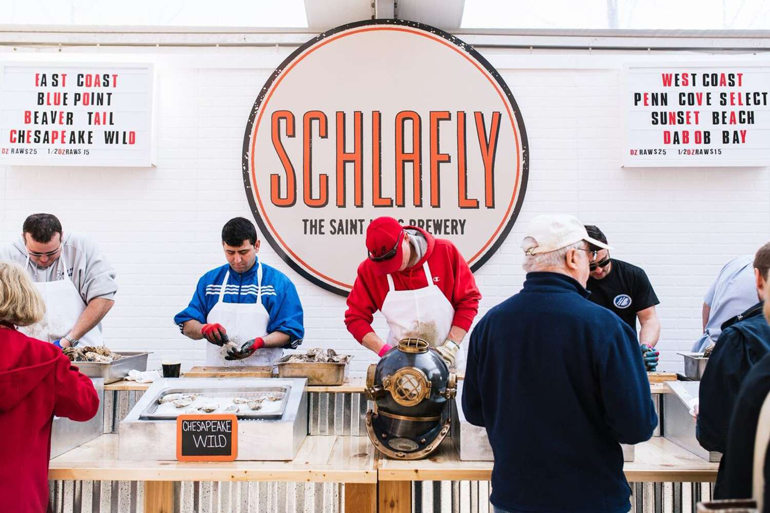 Schlafly Stout and Oyster Festival