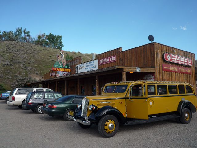Cassie's Supper Club and Dance Hall in Cody Wyoming