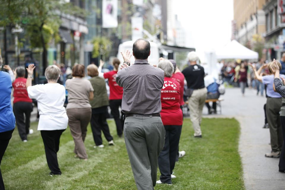 Montreal fitness centres, gyms, and sports include these tai chi classes.