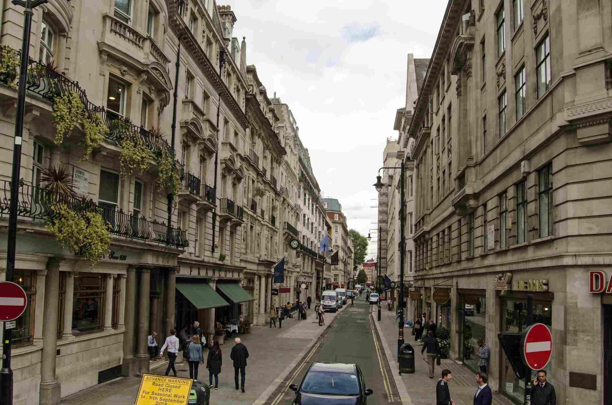 Jermyn Street, St James's, London