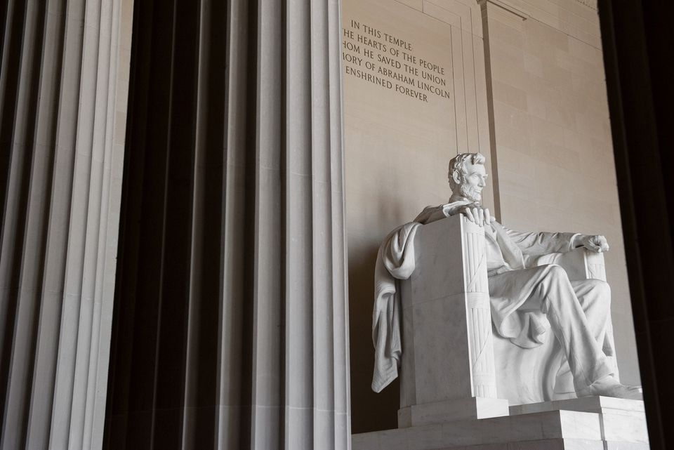 Monumento a Lincoln, Washington DC, EE. UU.