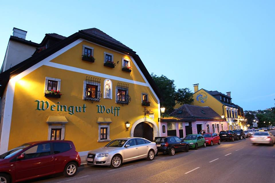 The Heuriger Wolff is a cozy, traditional wine tavern outside central Vienna.