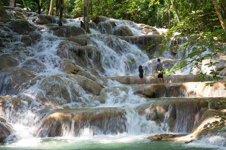 Jamaica, St. Ann Pa, Ocho Ríos, Dunns River Falls