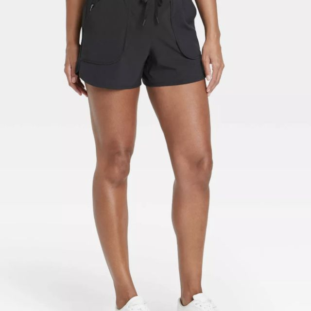 Target's Women's Stretch Woven Shorts