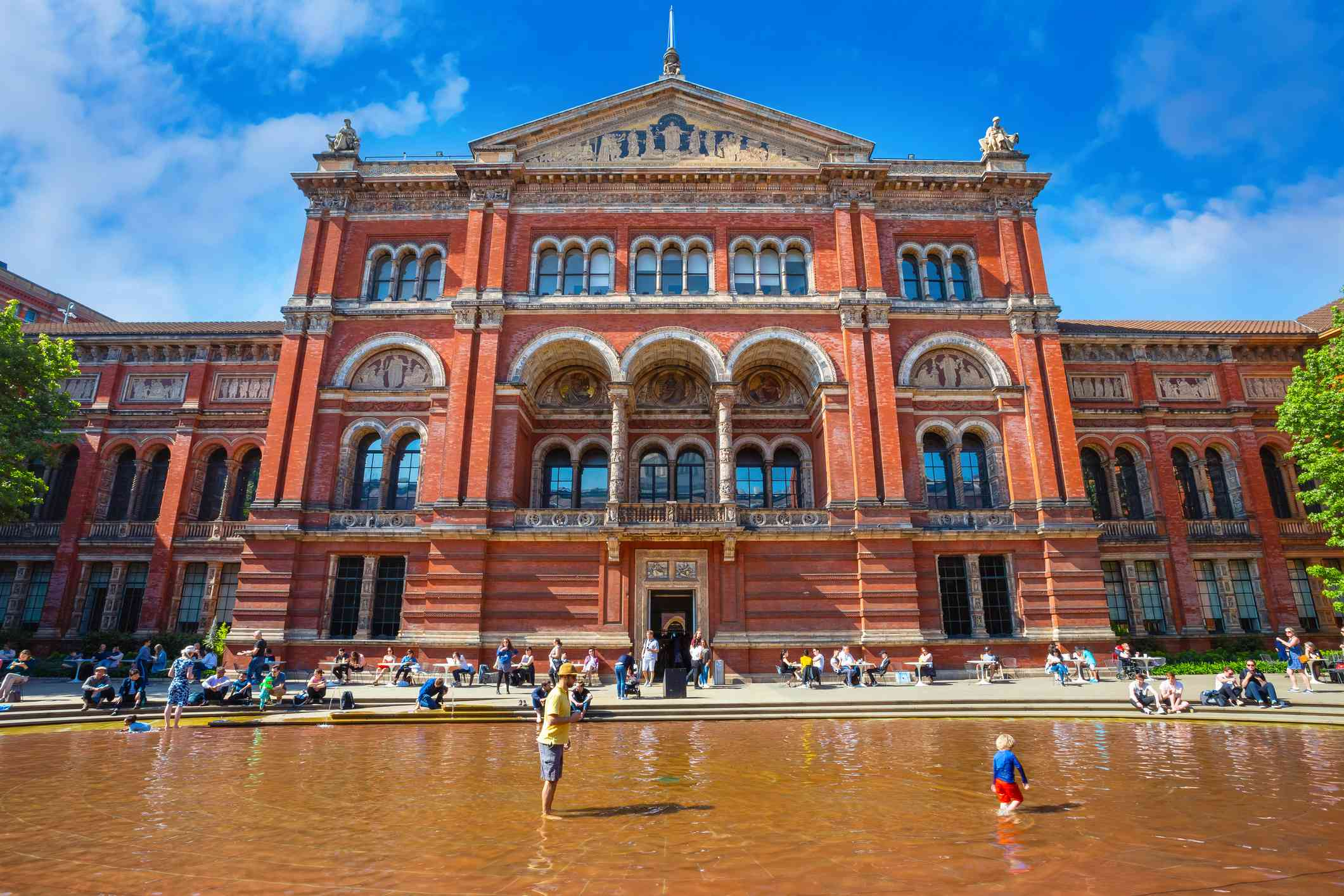 Museo Victoria and Albert en Londres, Reino Unido