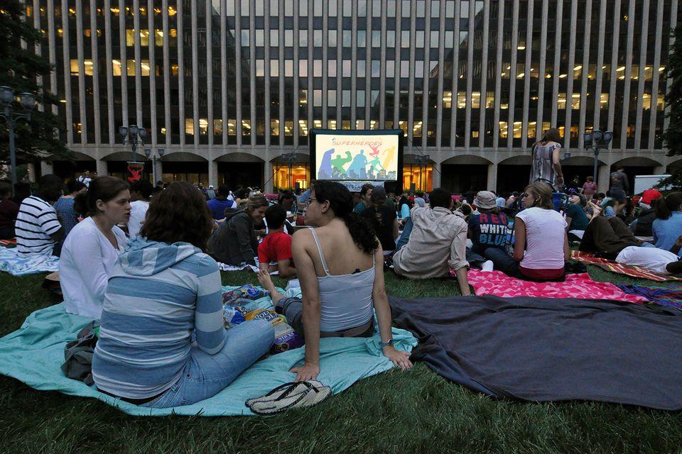 Crystal Screen Outdoor Film Festival