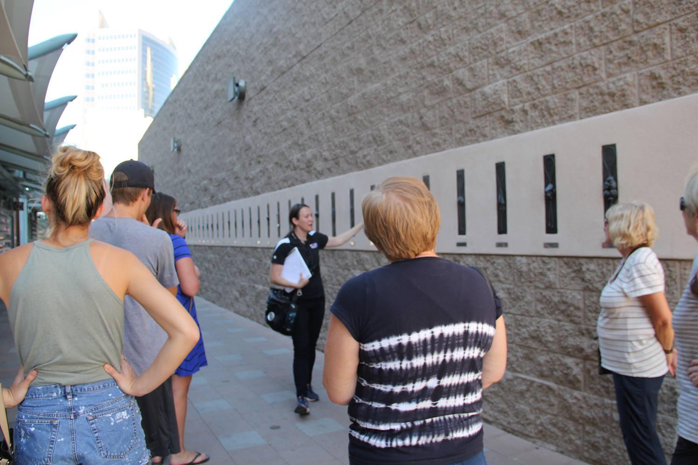 Downtown Phoenix Walking Tour, Light Rail Pubic Art