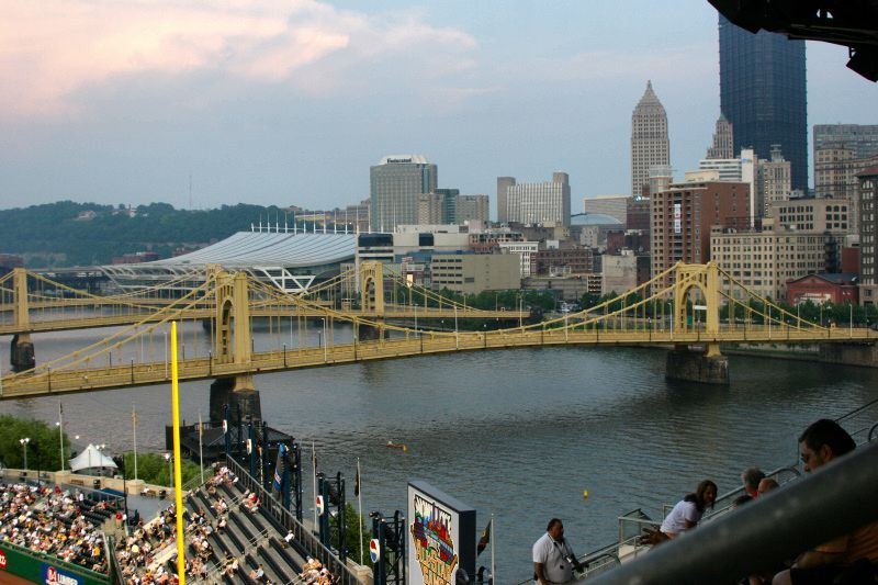 Picture of the View Down the Allegheny River from PNC Park
