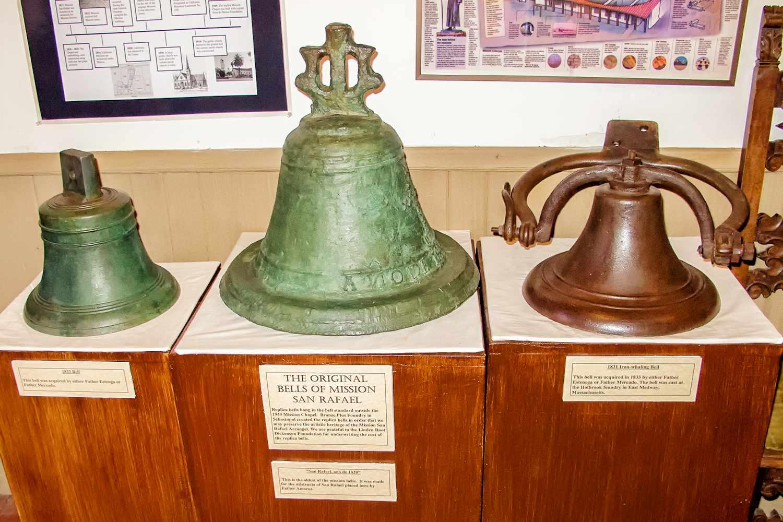 Original Mission Bells at Mission San Rafael