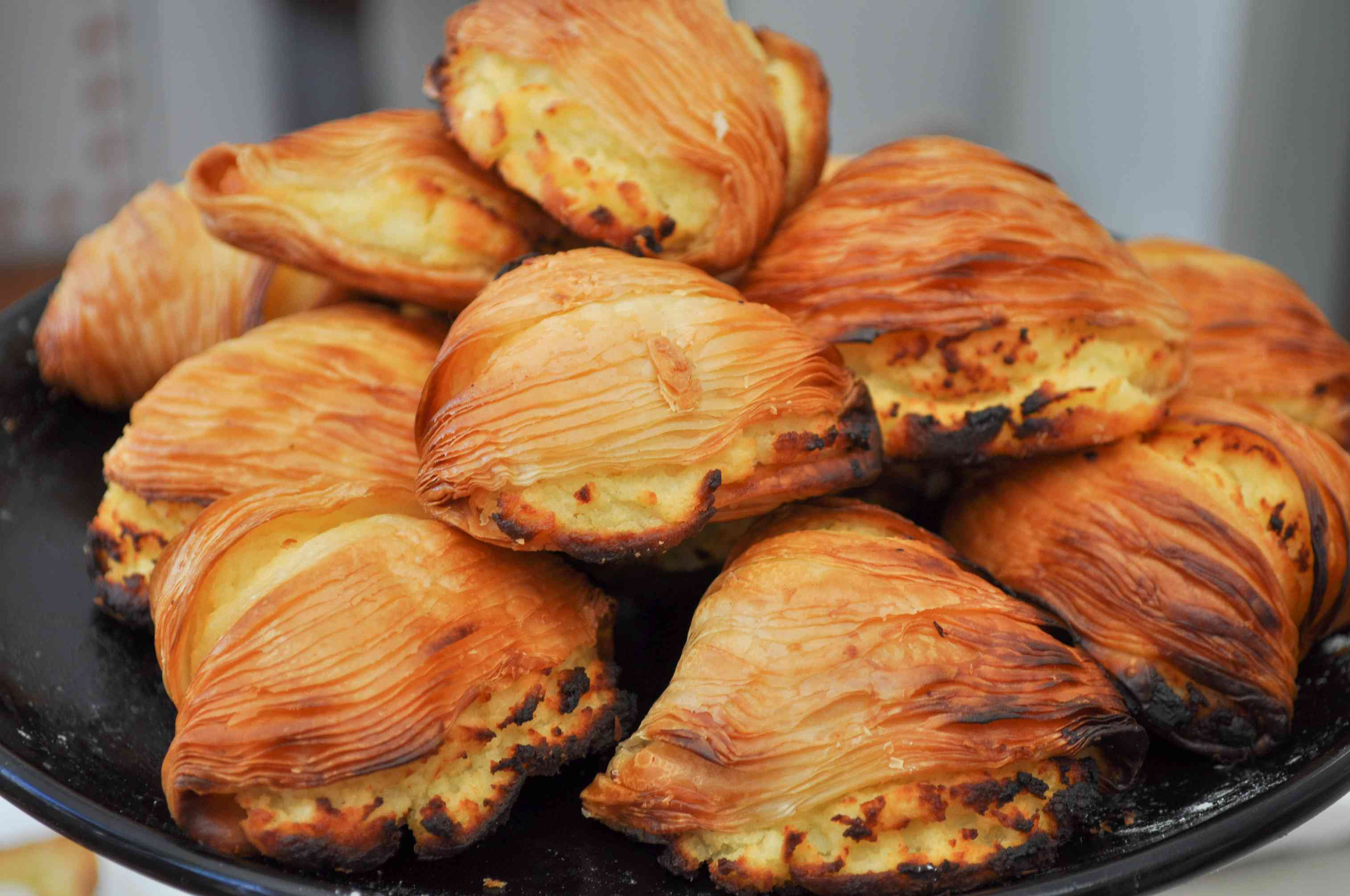 Sfogliatelle, Italian layered pastry that's a specialty of Naples