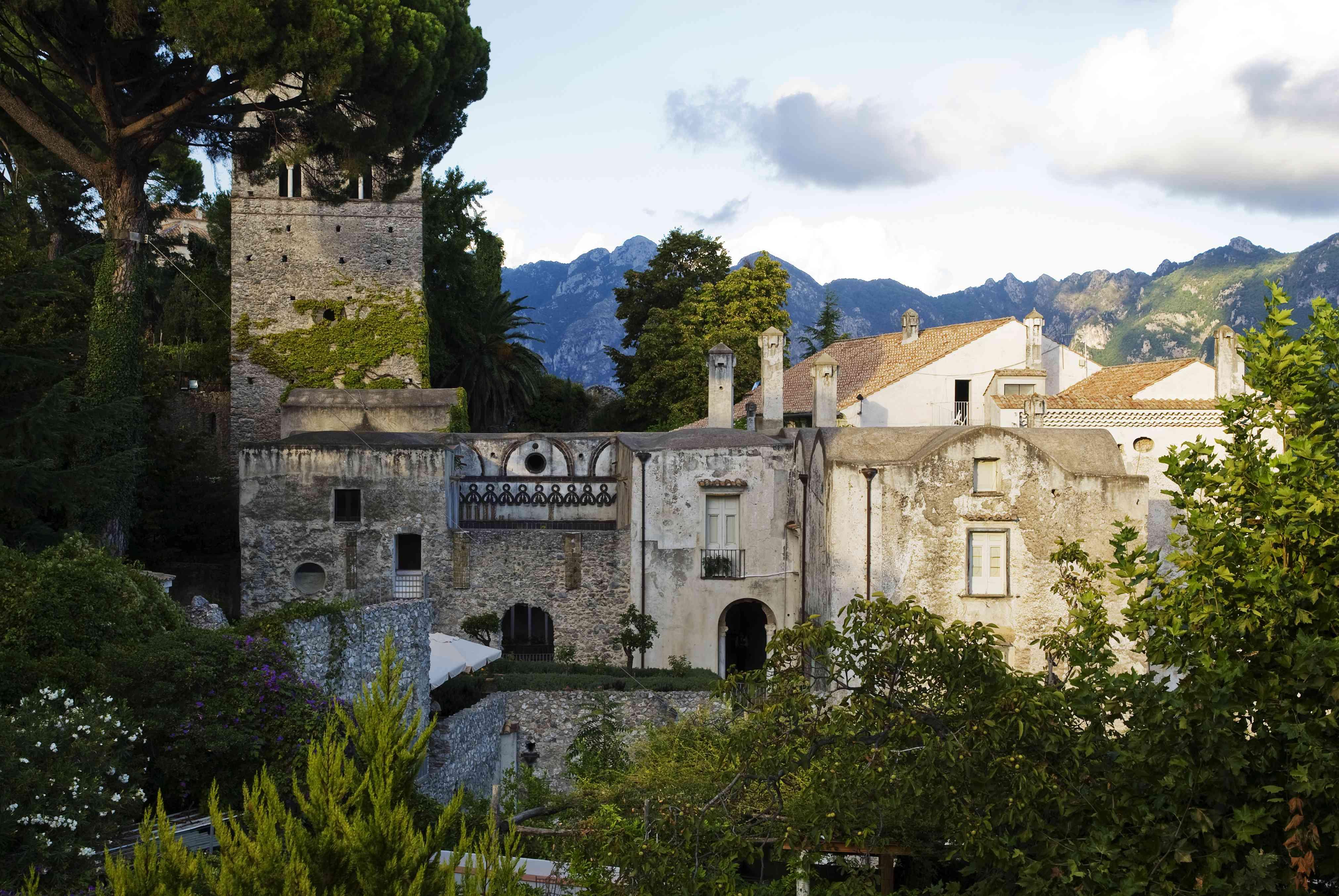 The 13th century Villa Rufolo in Ravello, Amalfi Coast