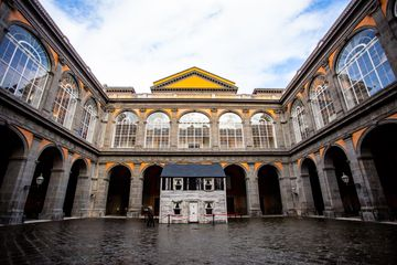 The Royal Palace of Naples, Italy