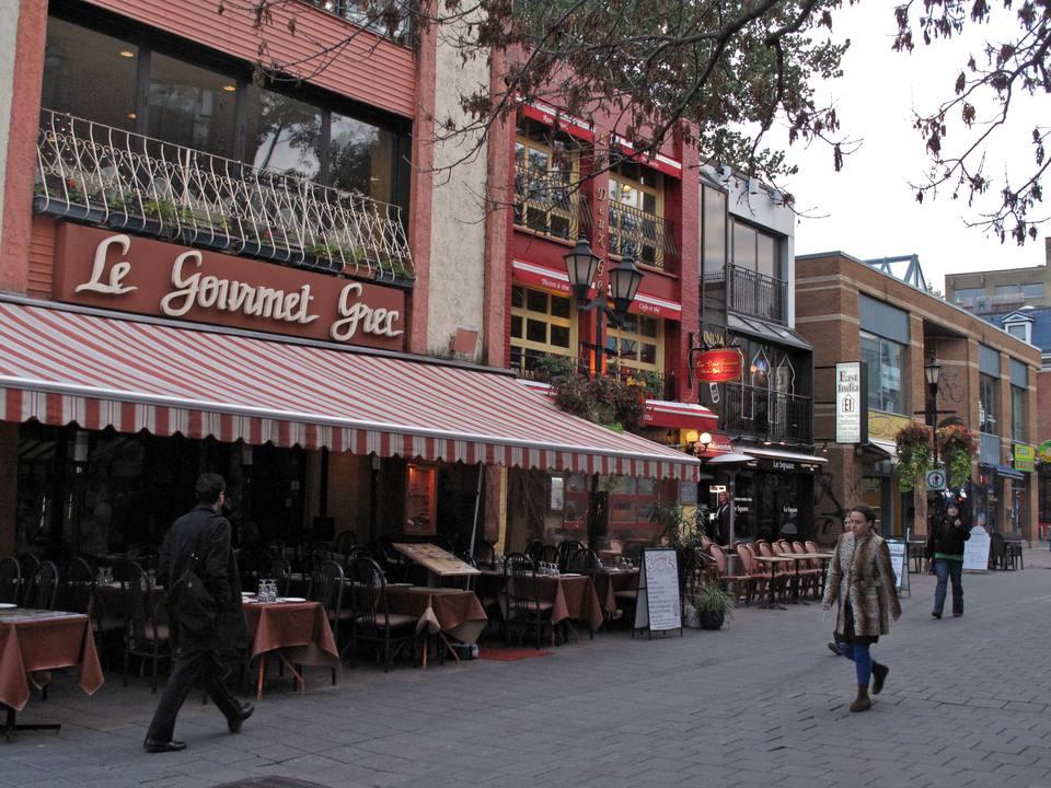 Montréal quartier latin
