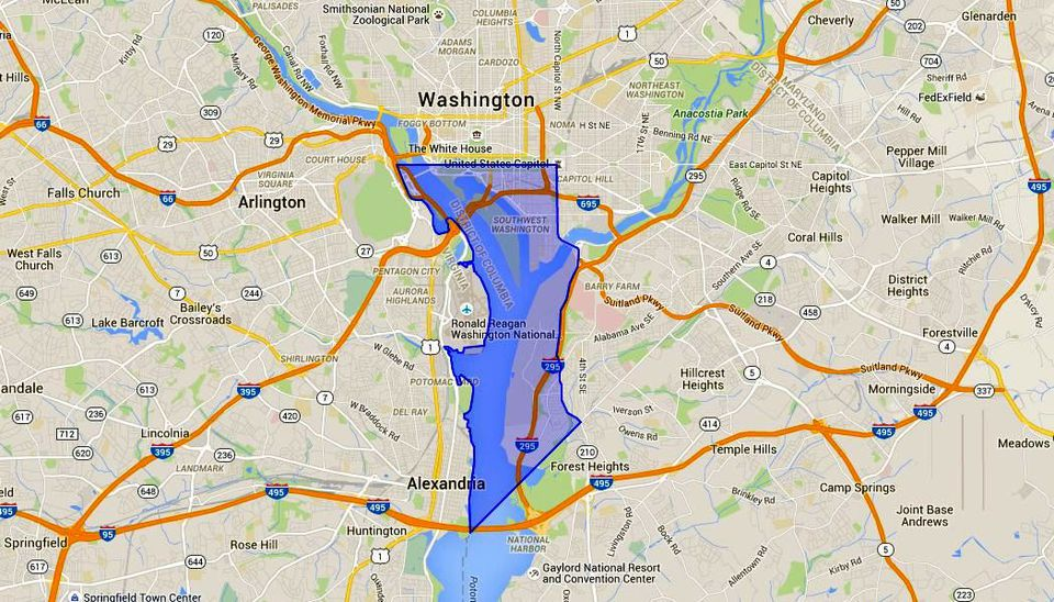 SW Washington DC: Maps and SW Waterfront Guide