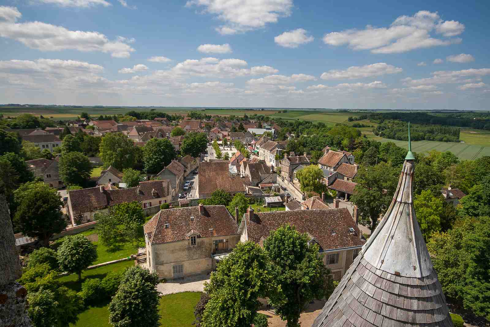 Provins is a medieval town outside Paris with UNESCO World Heritage Status.