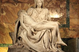 Michelangelo's Pieta at Saint Peter's Basilica