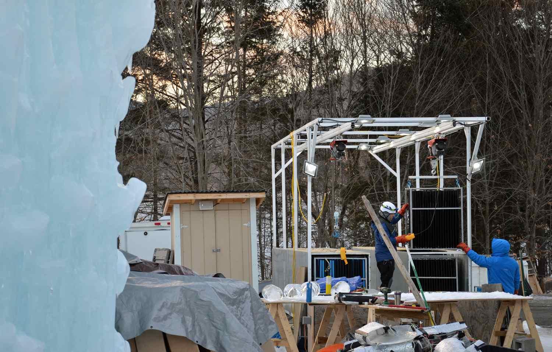 Ice Castles Artisans at Work