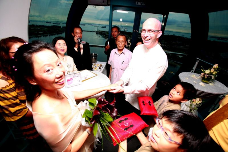 Special Occasions Celebrated in the Singapore Flyer